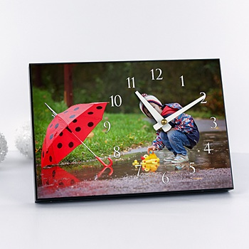 Horloge avec photo - Ma création photo - 2