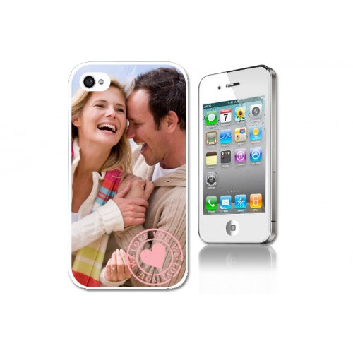 Coque Iphone 4/4s personnalisé - Coque iphone blanche 4/4S 7130