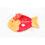 Doudou avec prénom brodé - Doudou Poisson 7620 thumb