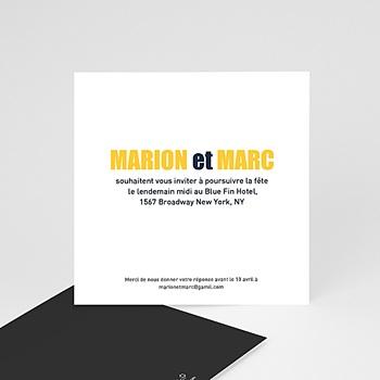 Cartons d'Invitation Personnalisés - New York City - 2