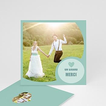 Cartes Multi-Photos 2 photos - Photo - Bordure Bleue - 2