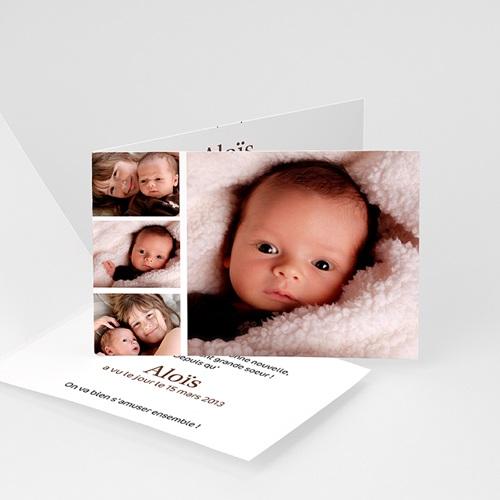 Cartes Multi-photos 3 & + - 4 photos- Aloïs 793