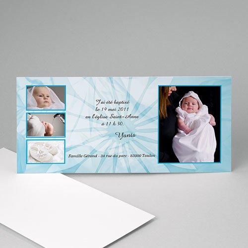 Archive - Baptême en vue - bleu 8009