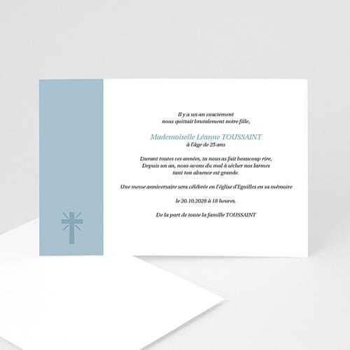 Remerciements Décès Chrétien - Aux Cieux - hommage posthume 8500