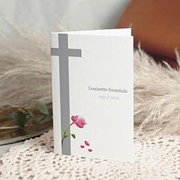 Remerciements Décès Chrétien - Ave Maria - remerciements, deuil, hommage - 3