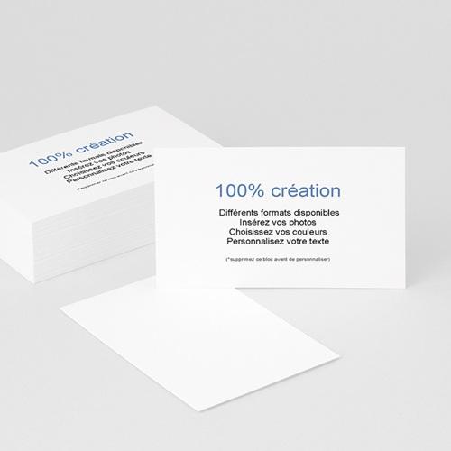 Toutes les cartes de visite Professionnelles - 100% CREATION - 8,5 x 5, 5 8683