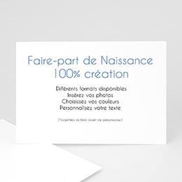 Tous les Faire-Part Naissance - Vierge 100% CREATION 8748