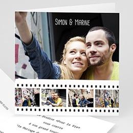 Faire-Part Mariage Personnalisés - Cinéma et cinéphiles - 3