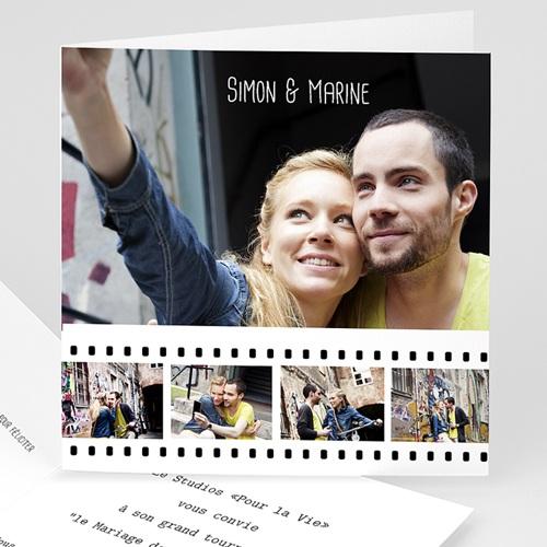 Faire-Part Mariage Personnalisés - Cinéma et cinéphiles 8760