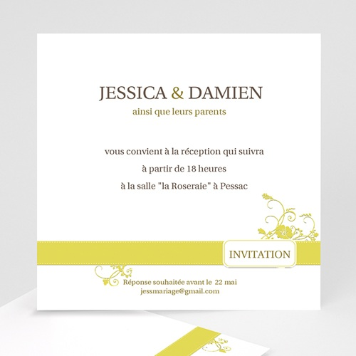 Archive - Design Marron et Bandeau Jaune 8772