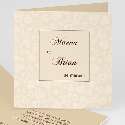 Archive - La clef du Bonheur - beige 8964
