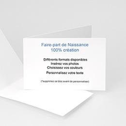 Tous les Faire-Part Naissance - 100% CREATION - 30 x 10  8972