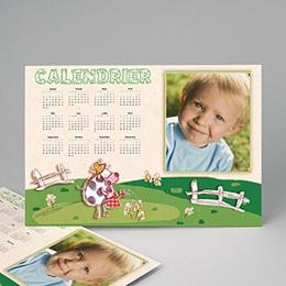 Calendrier Monopage - Année vachement belle 9007