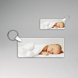 Porte clés personnalisés  - Porte-clés rectangulaire - 2
