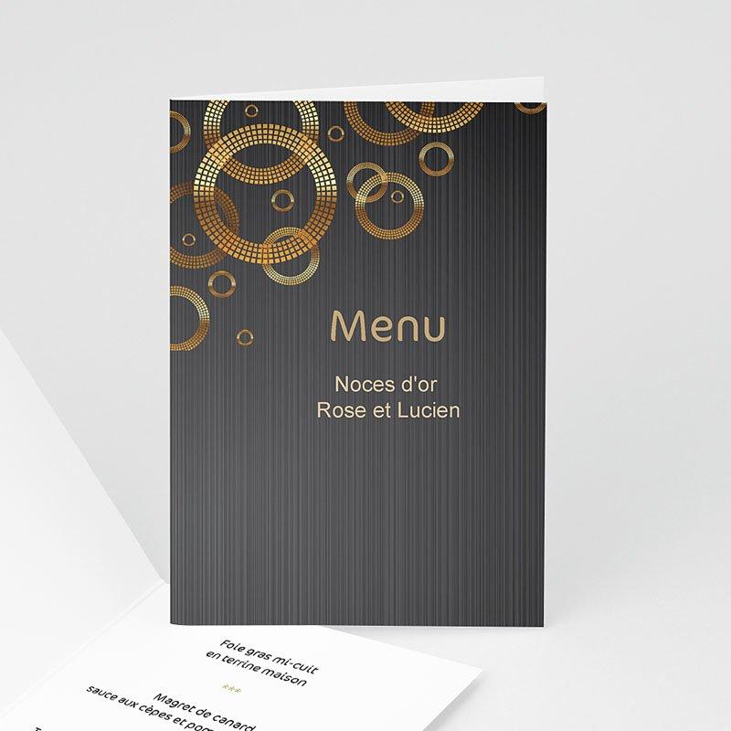 menu anniversaire menu platine. Black Bedroom Furniture Sets. Home Design Ideas