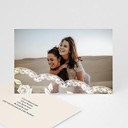 Carte Remerciements Pacs - Romantisme - 3