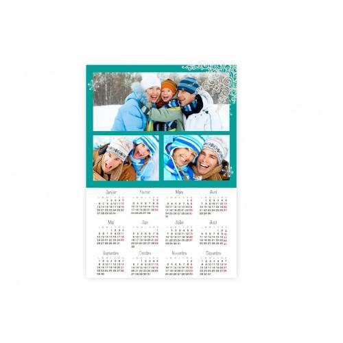 Calendrier Monopage -  Vacances - A5 9540
