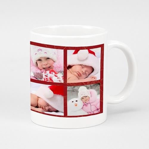 Mug Personnalisé - Noel en rouge 9584