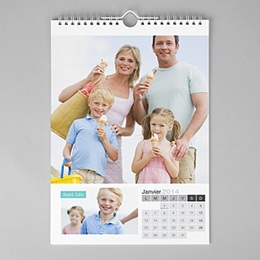 Calendriers photo Mural A3 - Mural Déco - multi photos - A3