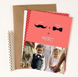 tous les remerciements mariage - Modele Carte Remerciement Mariage