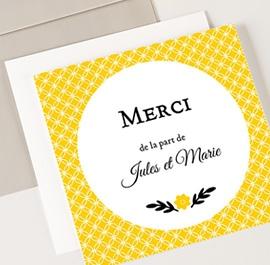 remerciement mariage chic - Carte De Remerciement Mariage Pas Cher