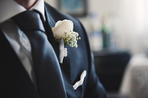 Boutonnière mariage