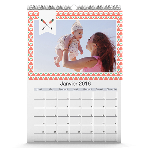 Calendrier personnalis avec ou sans photo - Creer un calendrier photo ...