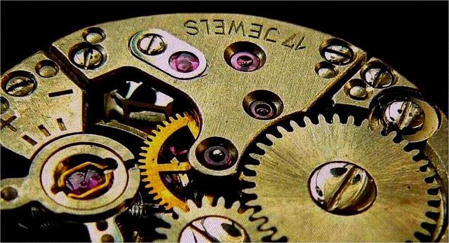 horloge mécanique
