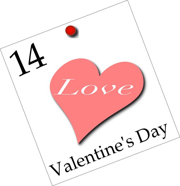 Fête Saint Valentin