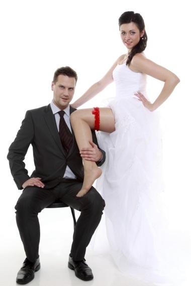Jeu de la jarretière mariage