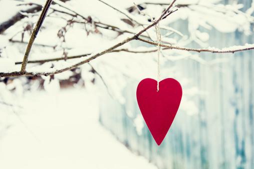 hiver coeur