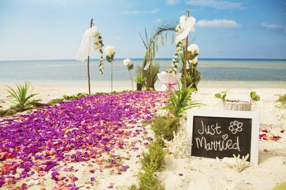 Mariage dans les îles