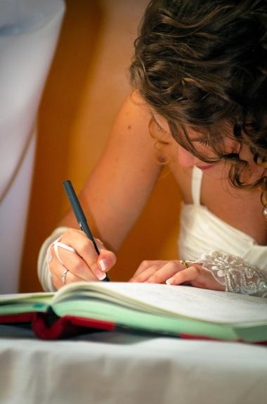 signature mariage