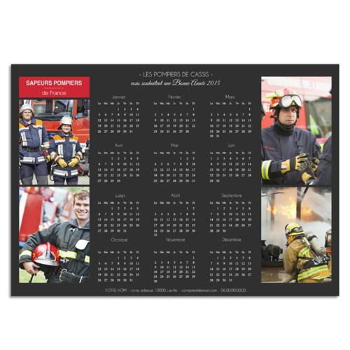 Calendrier pompier