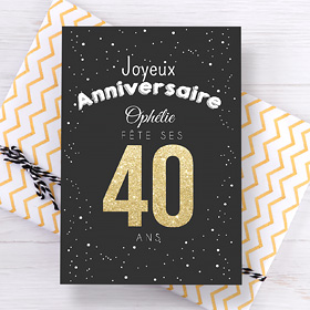 Invitations anniversaire