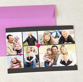 Cartes Multi-photos 3 & +