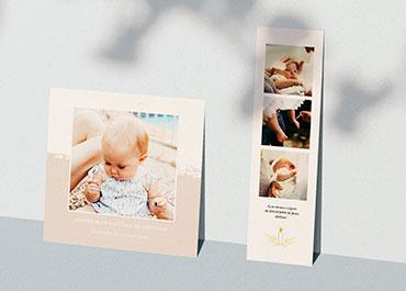 carte remerciements baptme - Modele Carte Remerciement Mariage