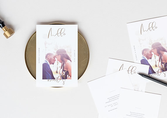 carte remerciements mariage - Carte De Remerciement Mariage Pas Cher