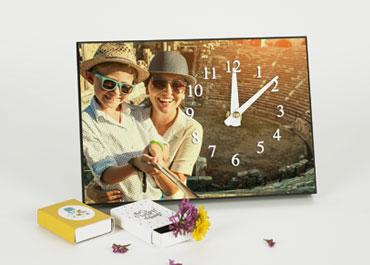 Horloge avec photo