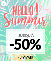 Hello Summer jusqu'à -50%