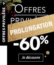 Prolongation jusqu'à 60%