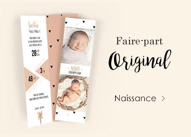 Faire-Part de Naissance Original