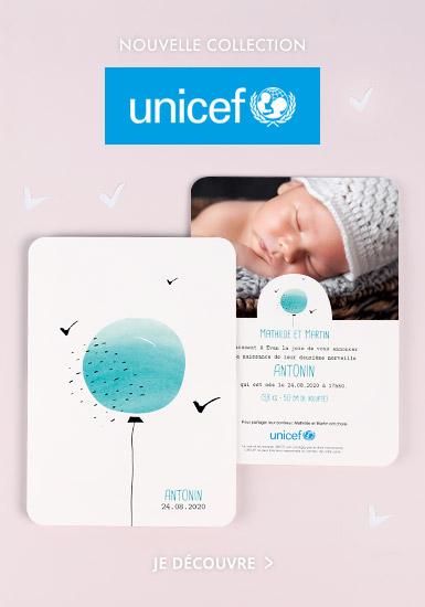 Faire-Part Naissance UNICEF