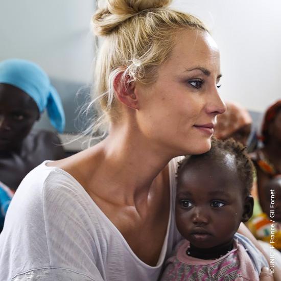Elodie Gossuin personnalité UNICEF