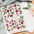 Livret Messe Mariage Herbier Romance, Couverture Florale pas cher