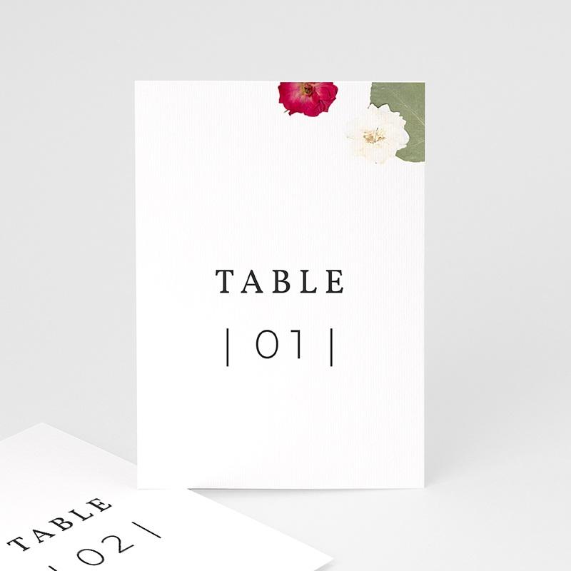 Marque Table Mariage Herbier Romance, Lot de 3