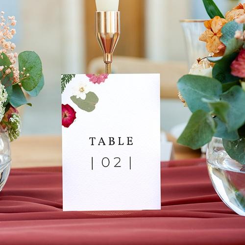 Marque Table Mariage Herbier Romance, Lot de 3 gratuit