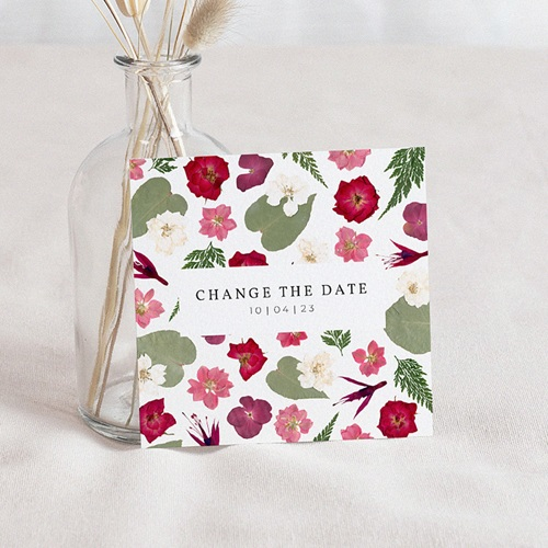 Change The Date Mariage Herbier Romance, Nouvelle Date