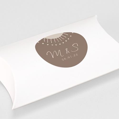 Etiquette Autocollante Mariage Soleil Couchant, 4,5 cm gratuit