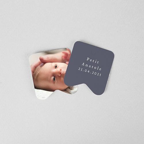 Faire-Part Naissance UNICEF Petit Vestiaire, bonnet Béguin gris gratuit